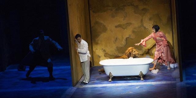»Giulio Cesare in Egitto/Julius Cäsar in Ägypten« © Semperoper Dresden/Klaus Gigga