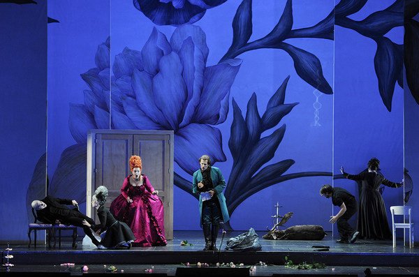 [Translate to Englisch:] Szene aus der Oper »Le nozze di Figaro«