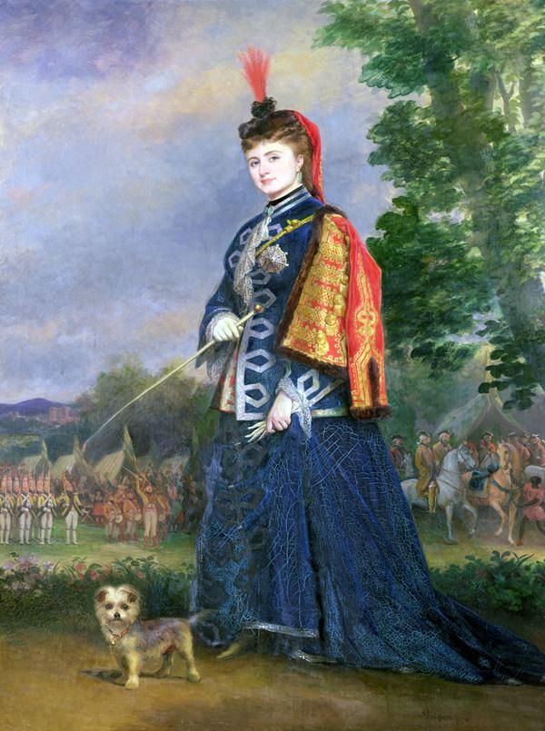 Hortense Schneider als Großherzogin von Gerolstein