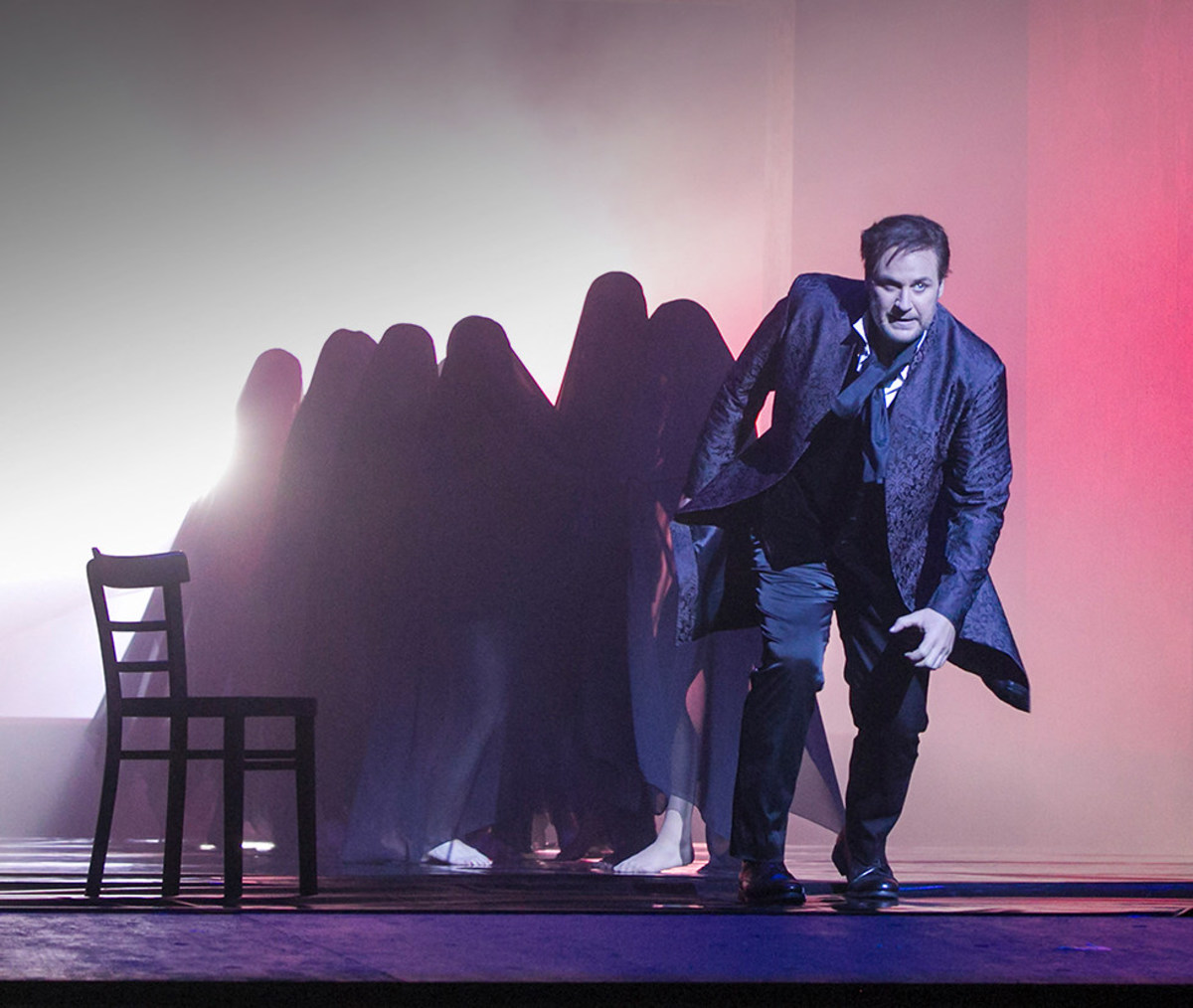 Szene aus der Oper »Don Giovanni«