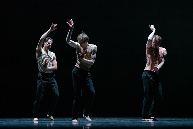 »These Arms«/»We will dance« © Semperoper Ballett/Ian Whalen