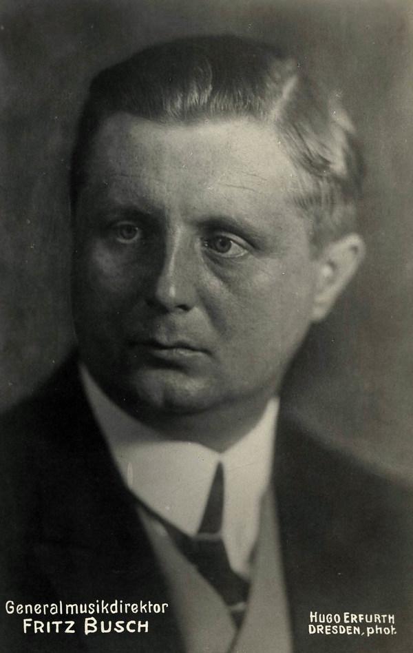 Porträt Fritz Busch