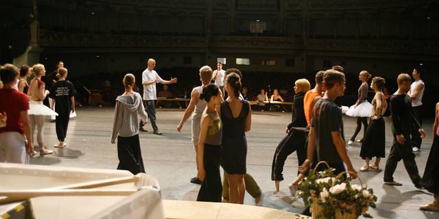 Öffentliche Hauptprobe mit dem Semperoper Ballett
