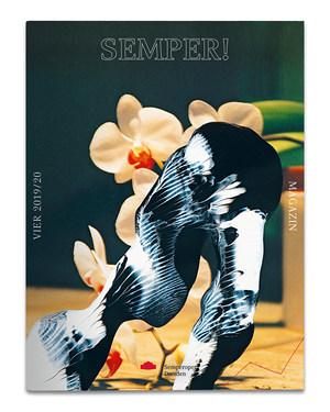 Magazincover mit einem Bild von Gerhard Richter