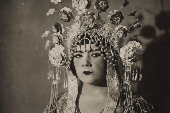 Anne Roselle in der Titelpartie der Deutschen Erstaufführung von »Turandot« am 4.7.1926
