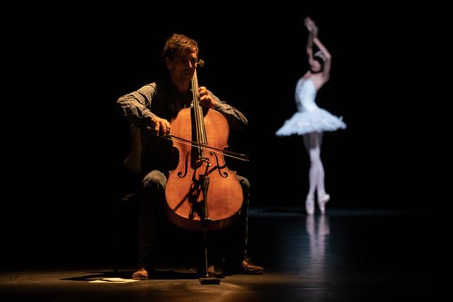 »Der sterbende Schwan«/»We will dance« © Semperoper Ballett/Ian Whalen