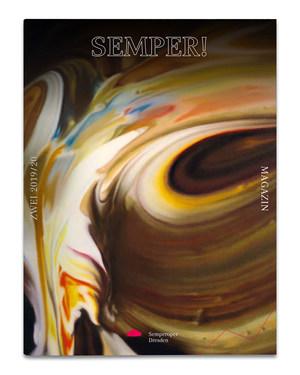 [Translate to Englisch:] Magazincover mit einem Bild von Gerhard Richter