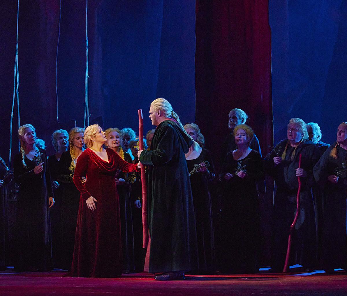 Szene aus der Oper »Norma«