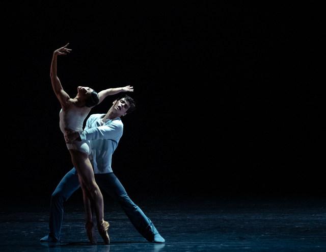 Courtney Richardson and Julian Amir Lacey in »Giselle« © Semperoper Dresden/Ian Whalen