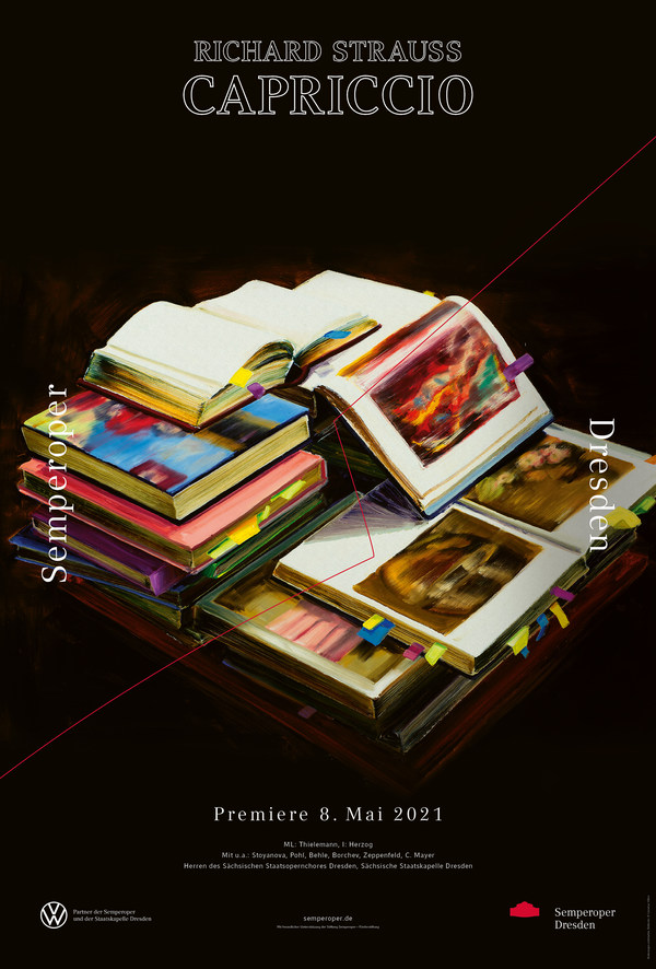 Premierenplakat 2020/21: »Capriccio«