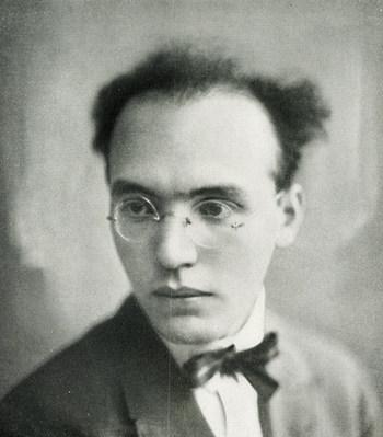 Kurt Weill (1900-1950), Abbildung aus dem Programmheft © Historisches Archiv der Sächsischen Staatstheater, Foto: Becker & Maaß