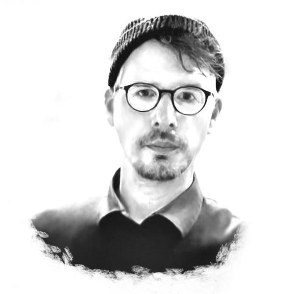 Porträtzeichnung Bernd A. Hartwig