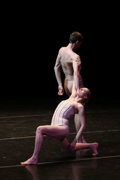Aidan Gibson und Christian Bauch in »Vertigo Maze« © Semperoper Dresden/Ian Whalen