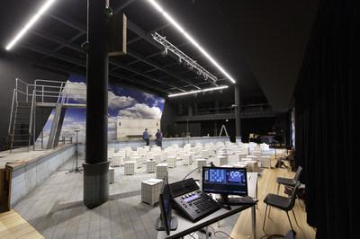 Semper Zwei Bühne mit Bühnenbild