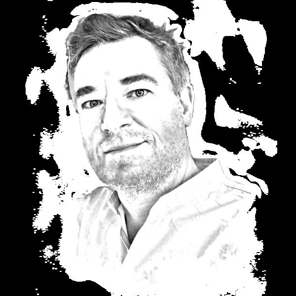 Portraitzeichnung des Künstlerischen Betriebsdirektors Björn Peters