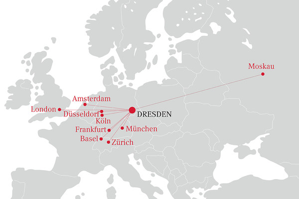 Connections to Dresden
