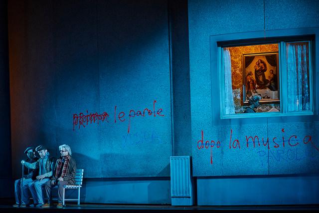 Szene aus »Capriccio« © Semperoper Dresden/Ludwig Olah