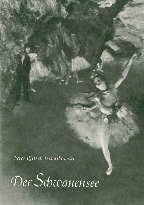 Programmheft-Cover »Schwanensee«, Erstaufführung am 17. Juni 1959