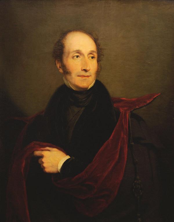 Carl Maria von Weber, Gemälde von George Hayter von 1829
