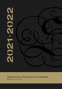 Cover Konzertplan Staatskapelle Dresden 2021/22
