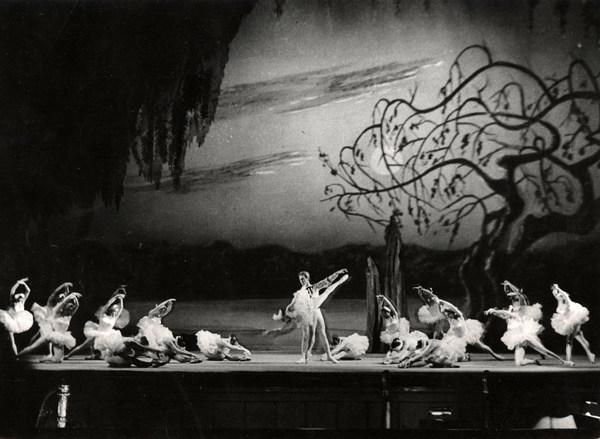 Szenenbild der Choreografie von Tom Schilling, 1959