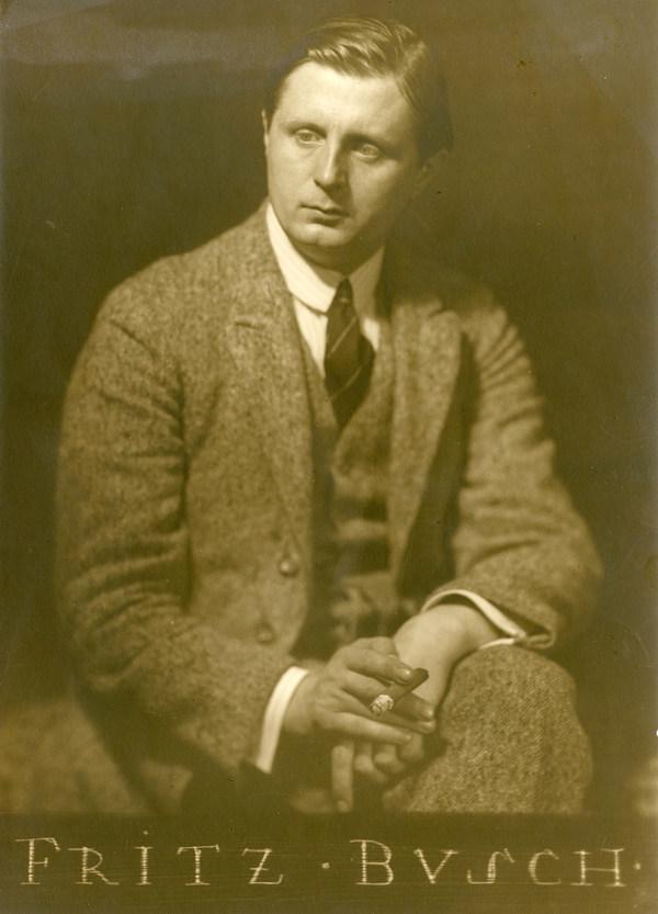Fritz Busch (1890-1951) © Historisches Archiv der Sächsischen Staatstheater, Foto: Franz Fiedler