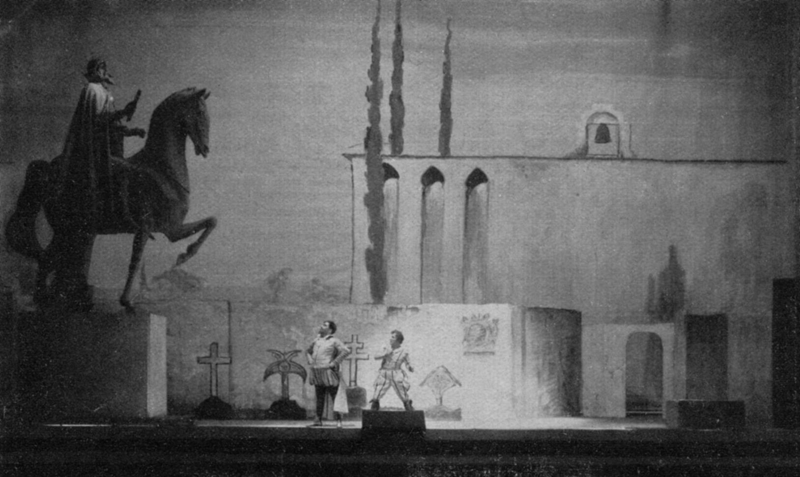 Friedhofsszene aus »Don Giovanni«